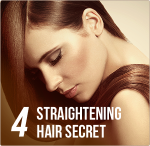 4 easy steps straightening hair secret
