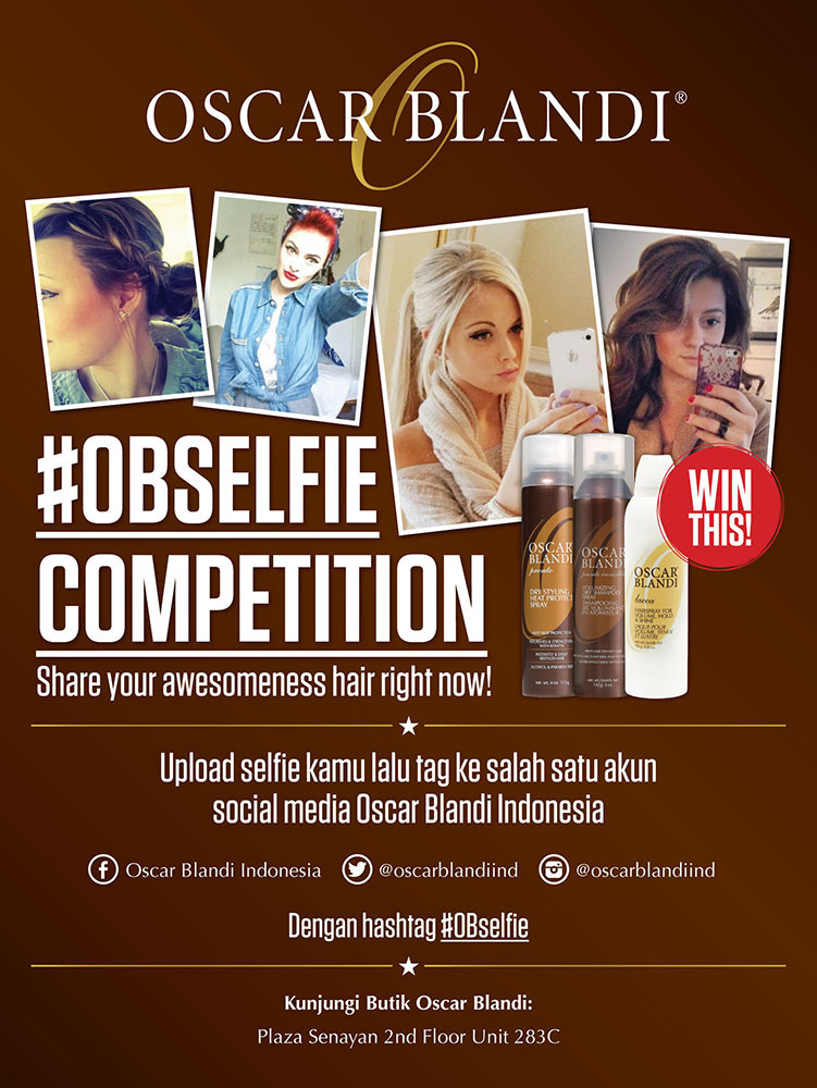 OBSelfie Competition by Oscar Blandi Indonesia